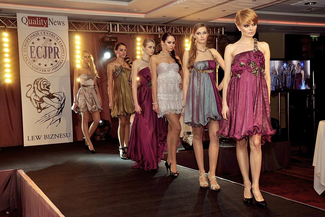 ECJPR - Wręczenie nagród oraz pokaz mody