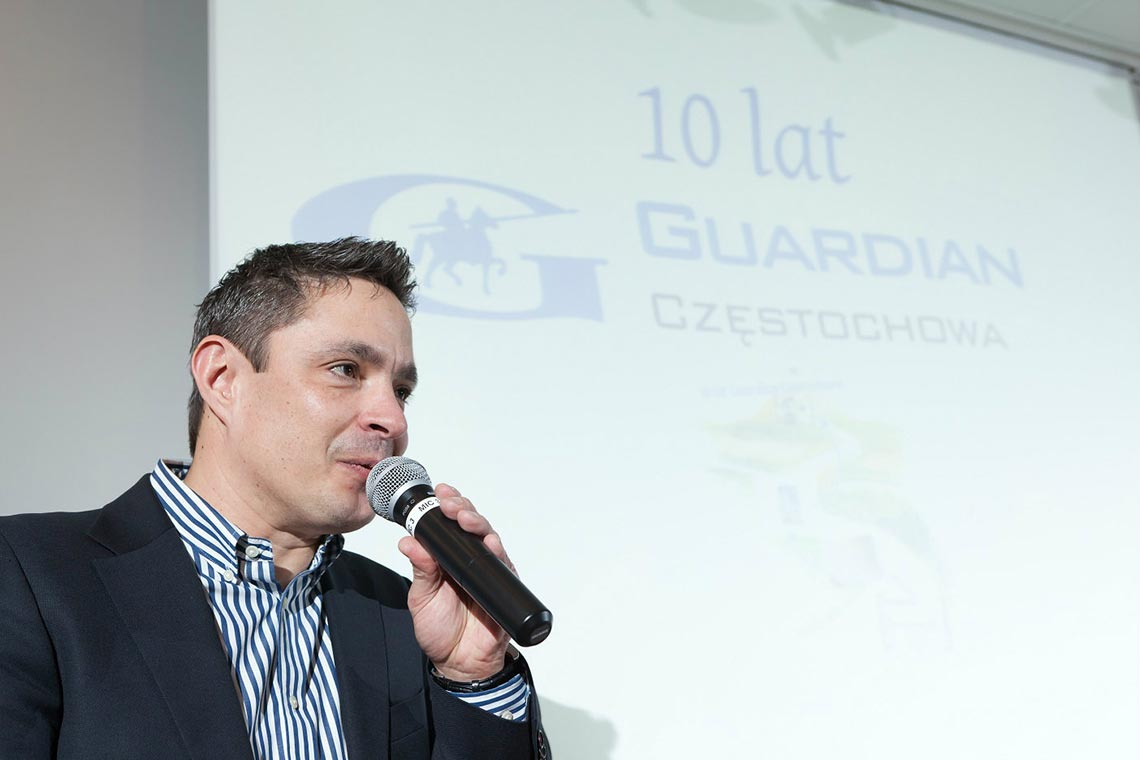 Guardian - Konferencja